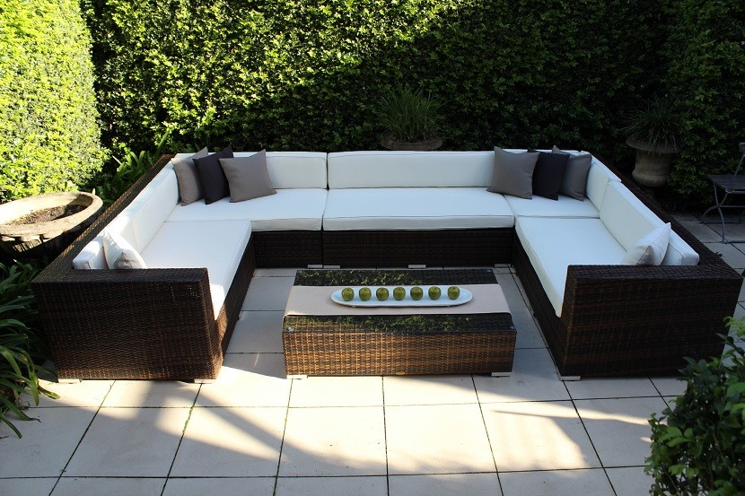 wicker outdoor lounge furniture outdoor wicker lounge