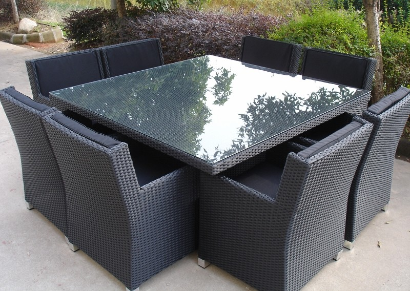 seater wicker dining settings royale 8 seater dining setting table