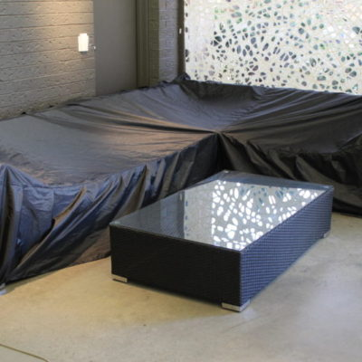 Weather cover for lounge