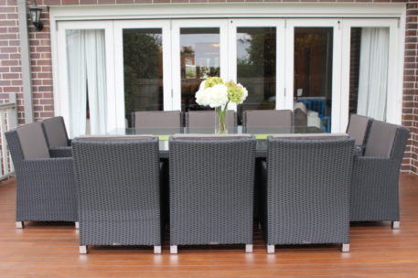 Royale 10 seater Outdoor Wicker Dining Setting