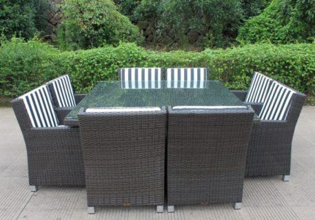 royale 8 charcoal  bw stripe fabric 1