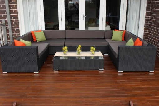 Gartemoebe Grand Outdoor Wicker setting