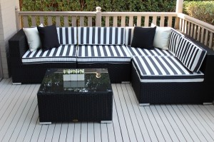 My Wicker Gartemoebe 5 ways Modular patio Furniture setting