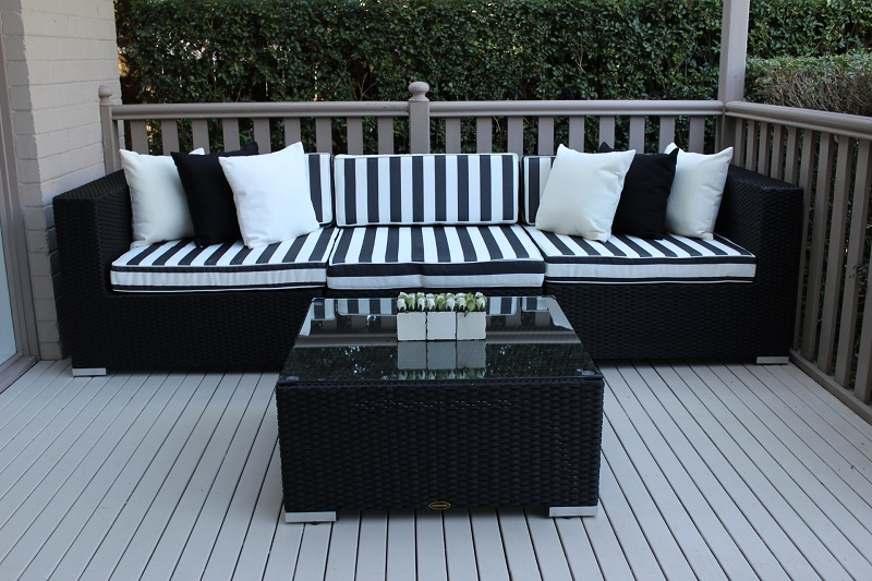 My Wicker 5 ways Modular Patio Furniture setting