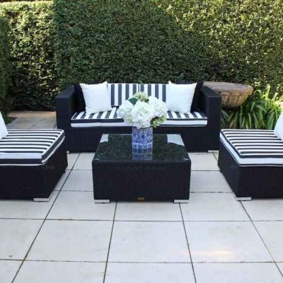 5 Ways black black white stripe cushion 3 piece