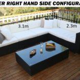 Gartemoebe Lounge with Longer RHS configuration