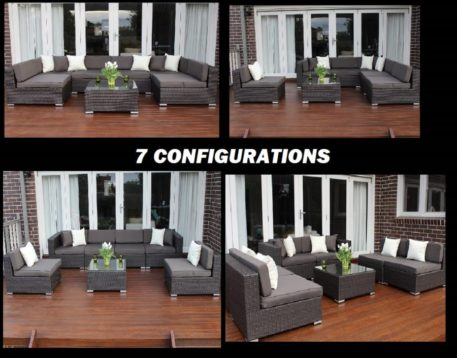 Seven Ways wicker furniture setting