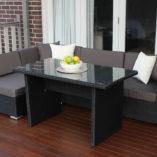 5 Ways Lounge Diner setting, L shape configuration