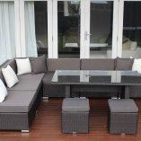 7 Ways Outdoor Wicker Lounge Diner L Shape
