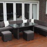 7 Ways Outdoor Wicker Lounge Diner setting