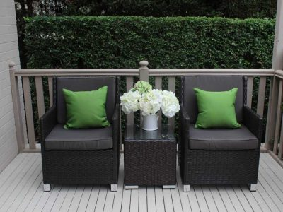 Patio Wicker Setting