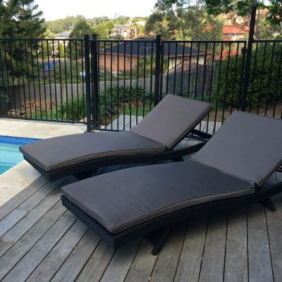 Royale Outdoor Wicker Sun Lounge