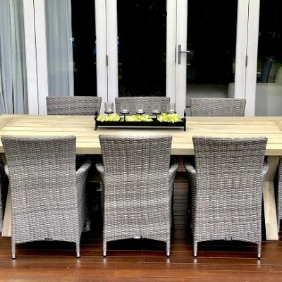 Norfok Outdoor Dining Setting