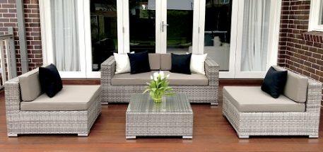 5 Ways Outdoor Lounge Setting Aged Grey
