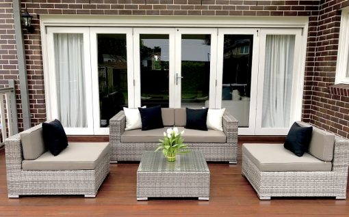 5 Ways Outdoor Lounge Setting Vintage Grey