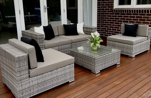 5 Ways Outdoor Wicker Lounge Setting Aged Grey