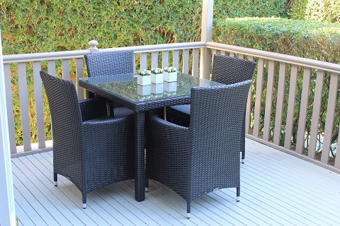 Gartemoebe 4 seater outdoor dining setting