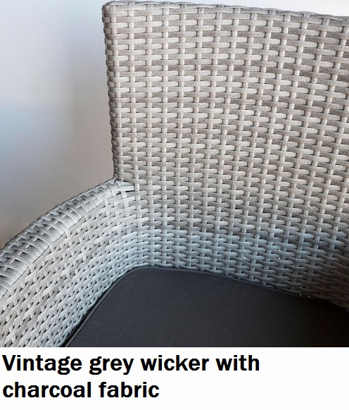 Vintage Grey with charcoal Fabric