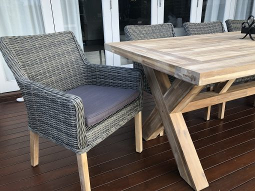Norwich 8 Seater Outdoor Dining set