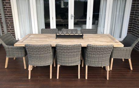 Norwich 8 Seater Outdoor Wicker Dining set