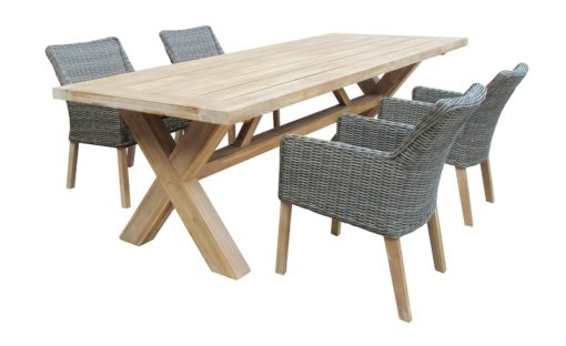 Norwich 6 Seater Outdoor Dining Setting
