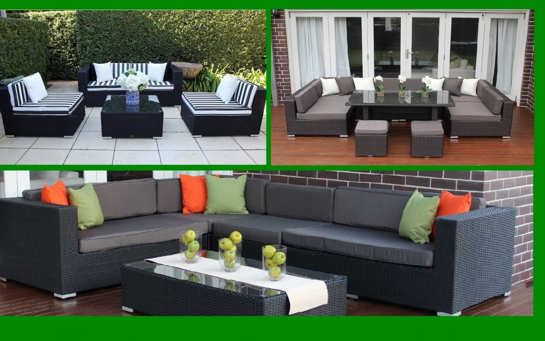Outdoor wicker furniture cushion covers new or replacements?