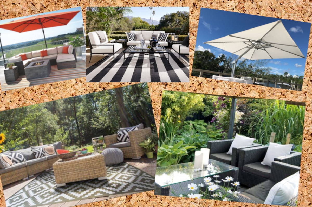 outdoor cushion covers moodboard