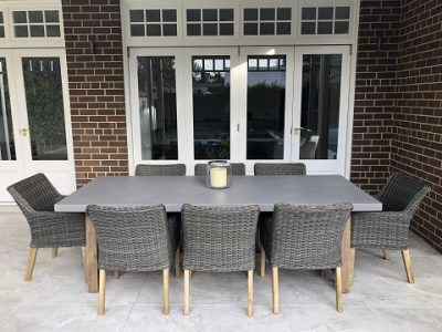 Veltis 8 seater Outdoor Furniture setting