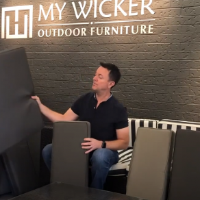 Simon explains My Wicker Outdoor Wicker Furniture New or Replacement Cushion Covers available on_OUR Settings