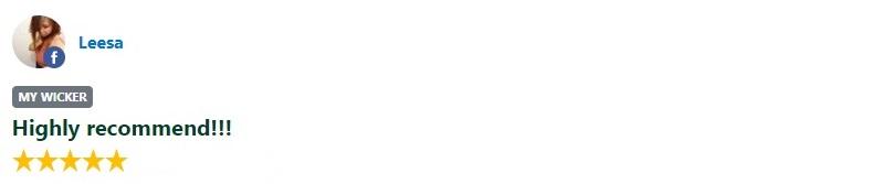 My Wicker customer feedback reviews leesa au