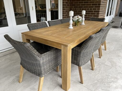 cancun 9 piece outdoor dining side